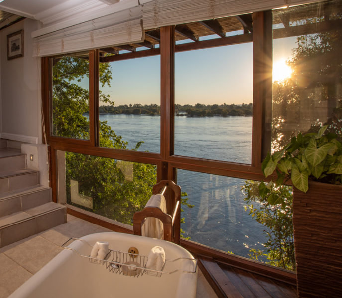 The River Club, Livingstone, Zambia