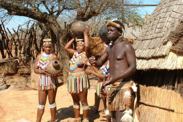 KwaZulu-Natal Zulu Village